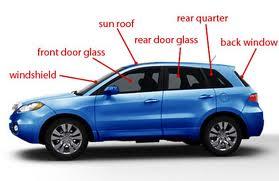 Auto Glass Diagram