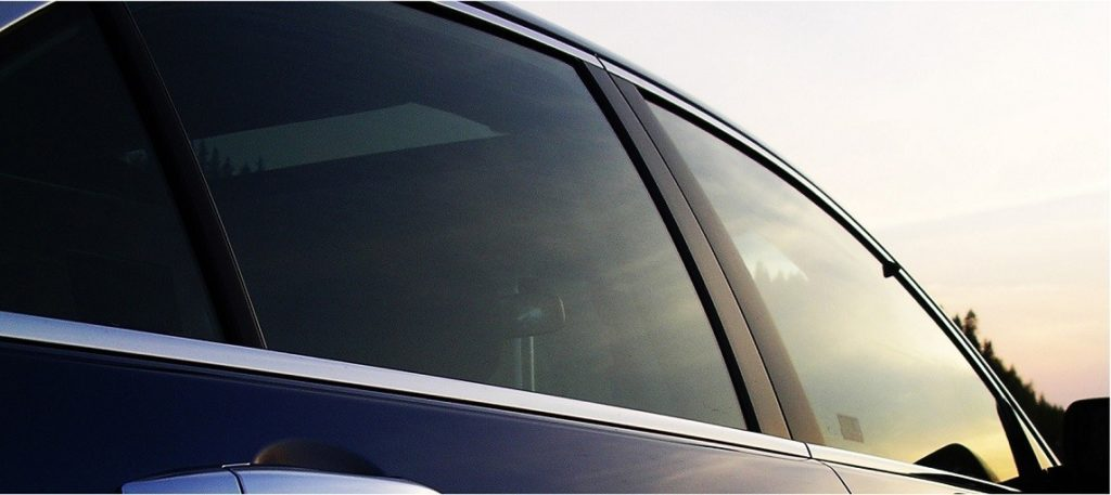 Picture of car side window